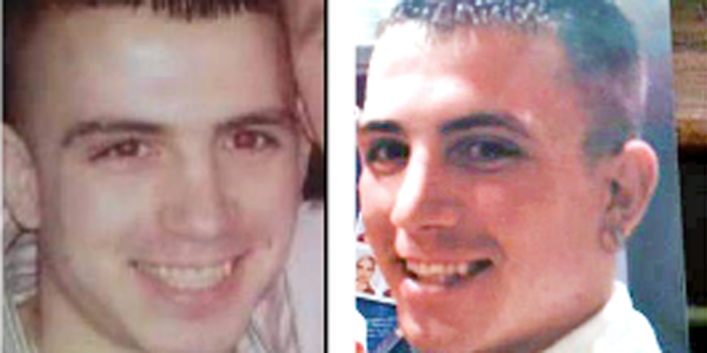 Kieran McManus was murdered outside Domino's pizza in Kennedy Way