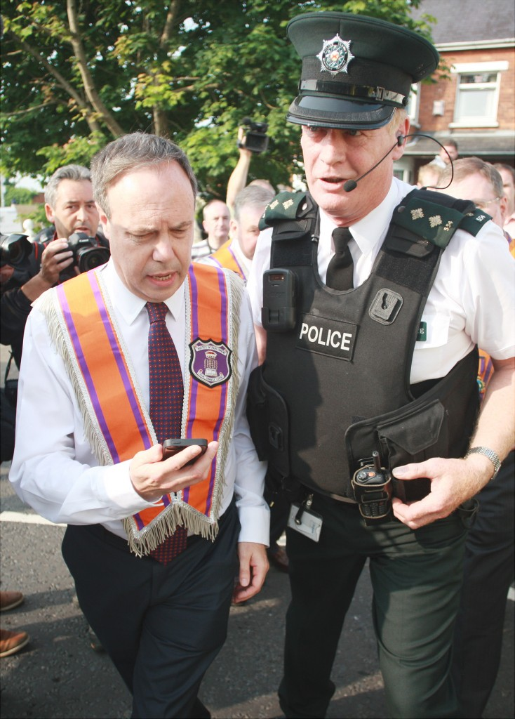 North Belfast MP Nigel Dodds