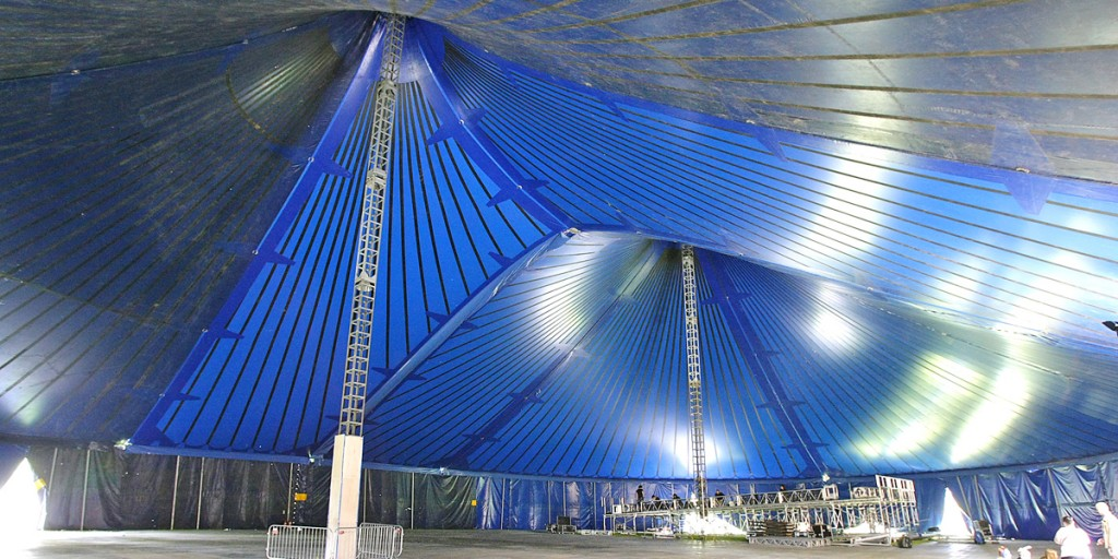 The impressive Big Tent in the Falls Park & Big fun in the Big Tent as the West prepares to party | Belfast ...
