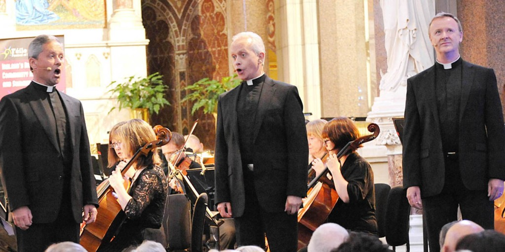 The Priests and Ulster Orchestra at Clonard