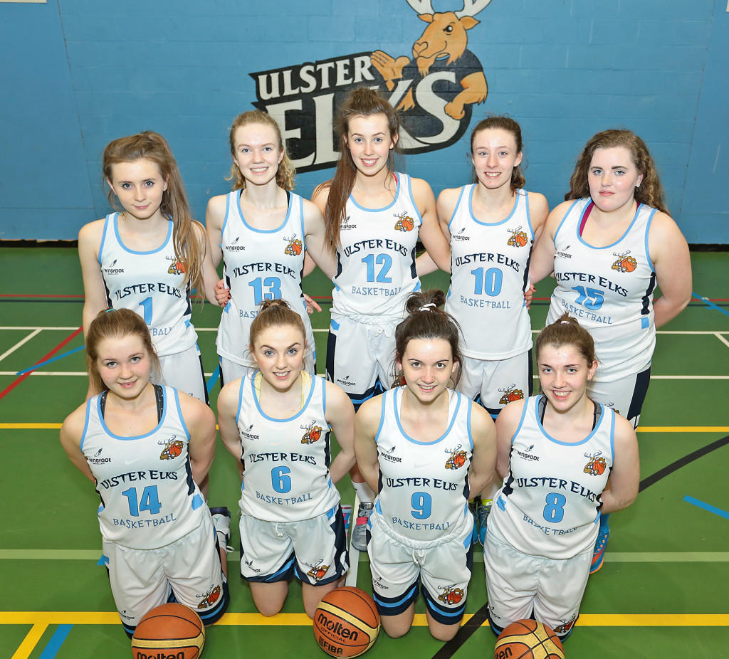 Ulster Elks are the first team from Belfast to compete for the coveted underage title