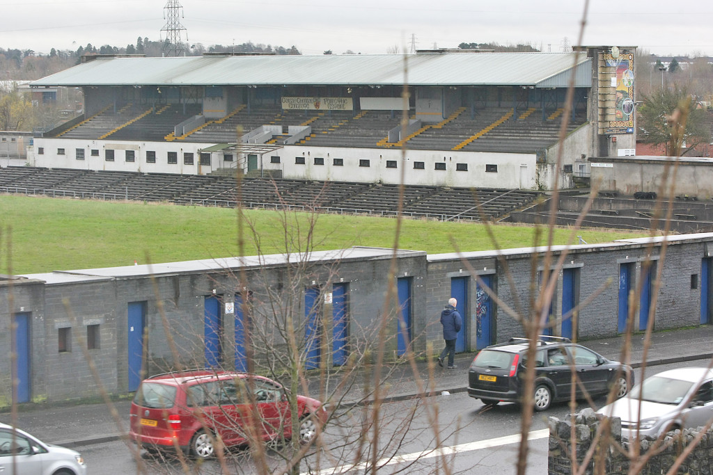 The £70 million redevelopment of Casement Park has been put on hold as wrangling continues over its capacity