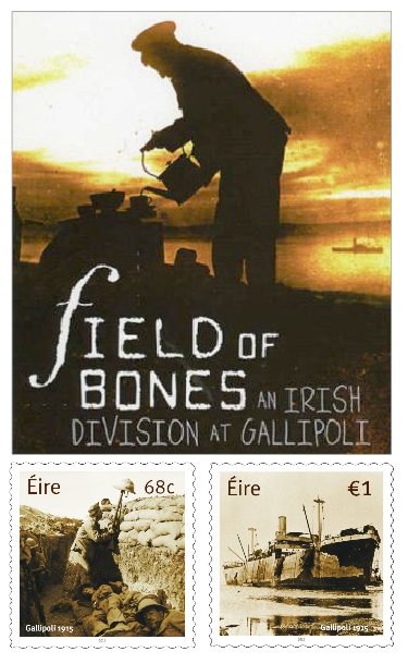Phillip Orr's 2006 book was the start of a re-examination of the Gallipoli narrative, the two new stamps are the latest step on the road to understanding
