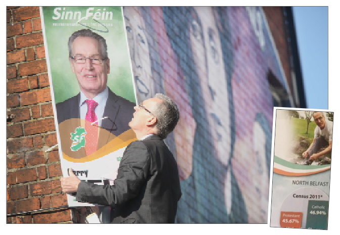 Sinn Féin's Gerry Kelly failed in his bid to unseat the DUP's Nigel Dodds in North Belfast, but he says the leaflet controversy was not to blame