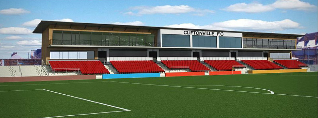 How the new main stand at Solitude will look