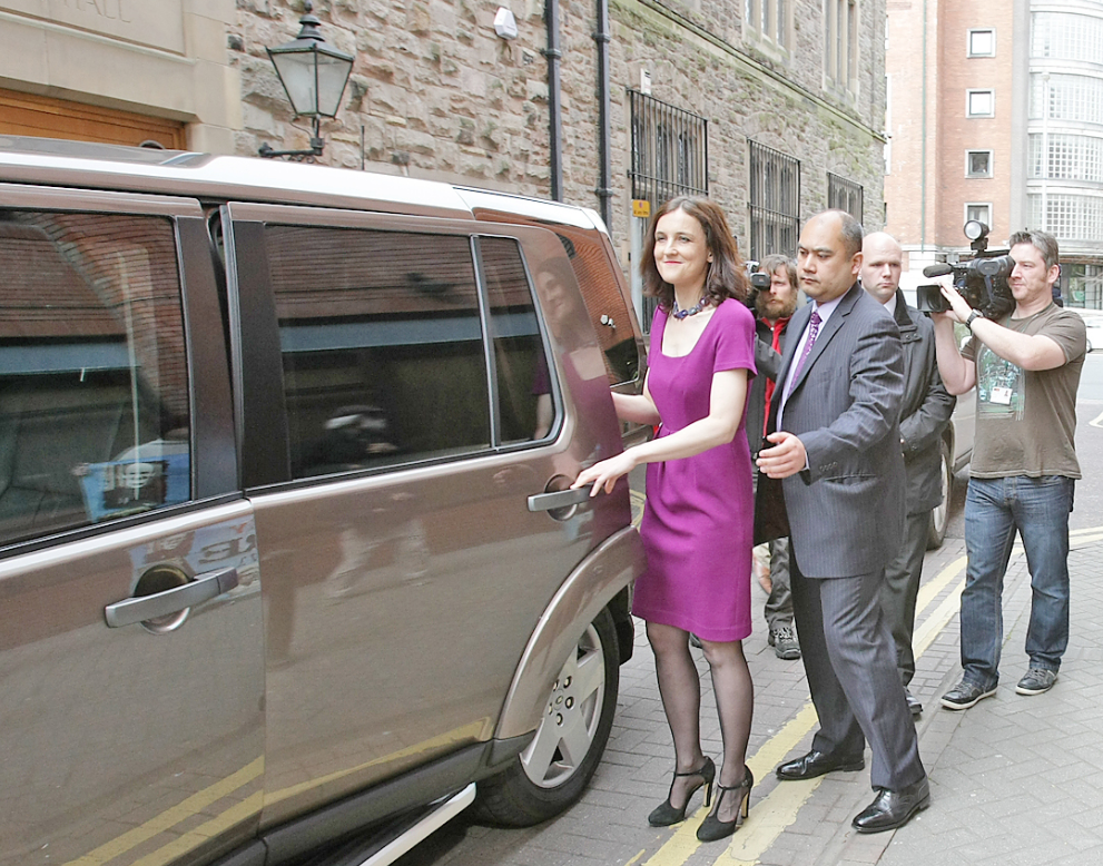 Secretary of State Theresa Villiers is in the frame as she considers a DUP invite to intervene in the welfare crisis