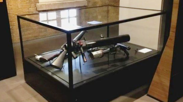 Relatives were told by police that the Czech VZ58 used in the 1992 massacre had been disposed of, but it turned up on display in this case at the Imperial War Museum