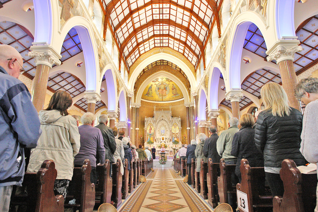 As ever, Clonard church was packed to capacity for the start of the annual Solemn Novena, which draws tens of thousands from across the city and beyond for prayers and a celebration of faith