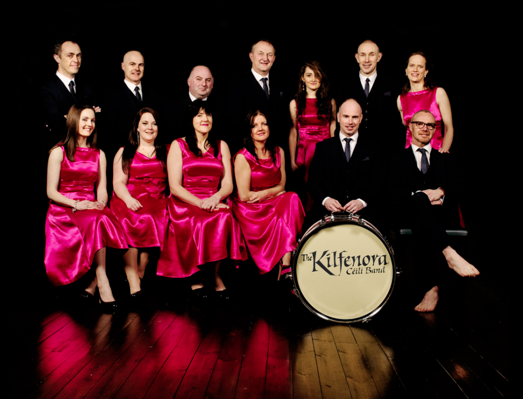 The legendary Kilfenora Ceili Band are a staple on Larry's show, alongside some rather more cutting-edge Irish music
