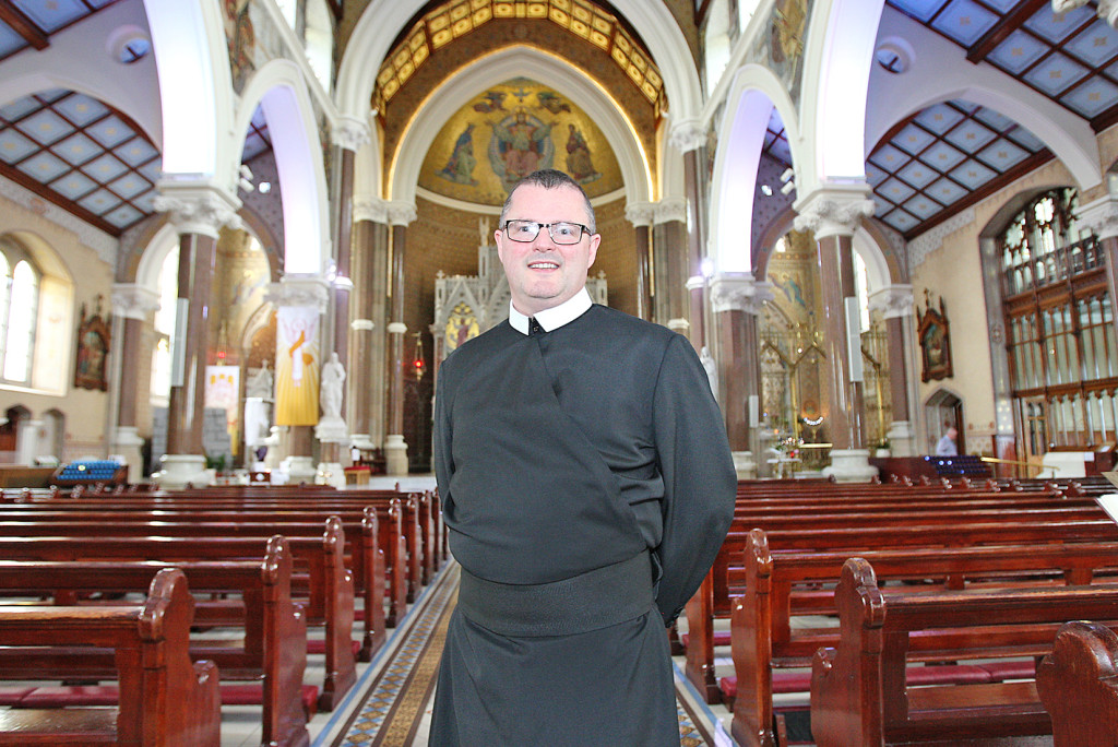 Fr Kehoe is looking forward to the Clonard Solemn Novena which starts next week