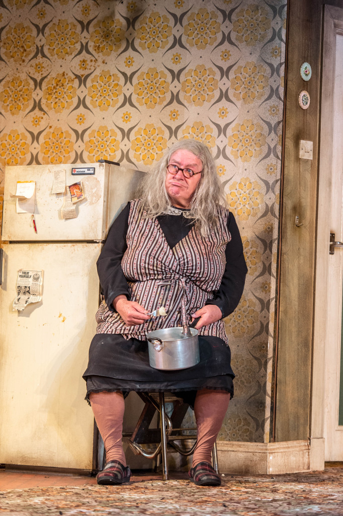 Gregor Fisher, who plays the much-loved TV rogue Rab C. Nesbitt, plays Granny in the new production at the Lyric