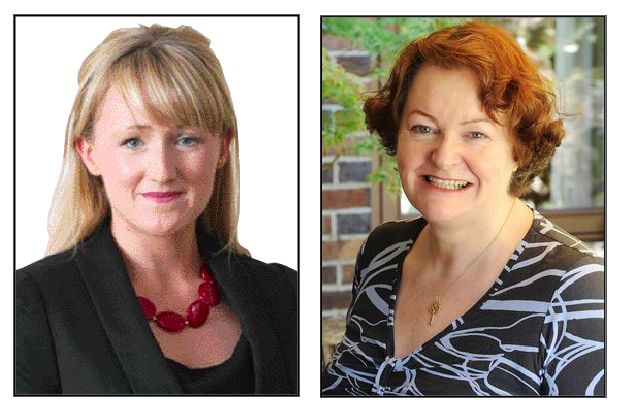 Rebecca Long-Bailey (left) and Dr Philippa Whitford both have strong connections to Andersonstown