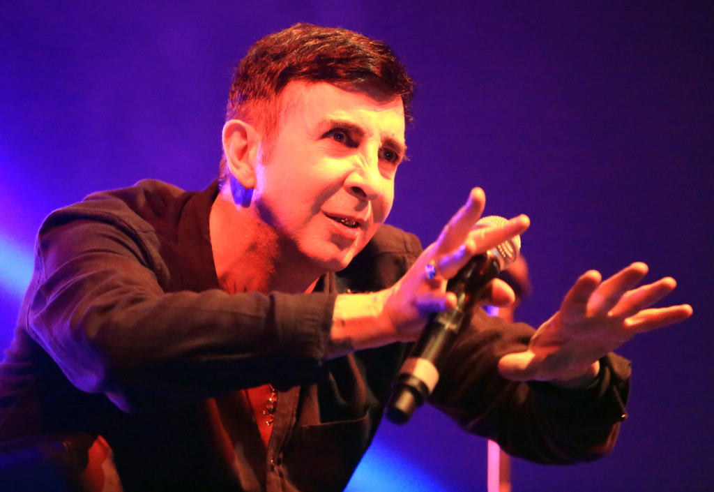 Marc Almond stole the show during Féile's 80s Night in the Falls Park last night Marc Almond 0208JC15