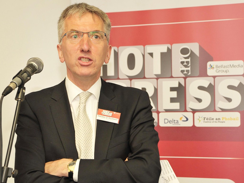 Host Máirtín Ó Muilleoir says Belfast will put on its game-face for its international visitors