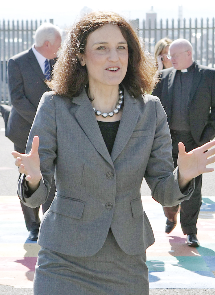 Theresa Villiers says she's satisfied that all parties embrace the principles of democracy and consent