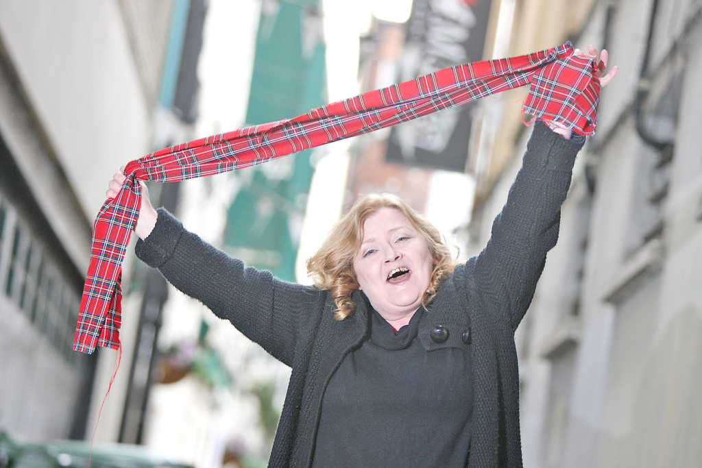 The Bay City Rollers loom large on the soundtrack of 'Handbag Positive', Donna O'Connor's latest play
