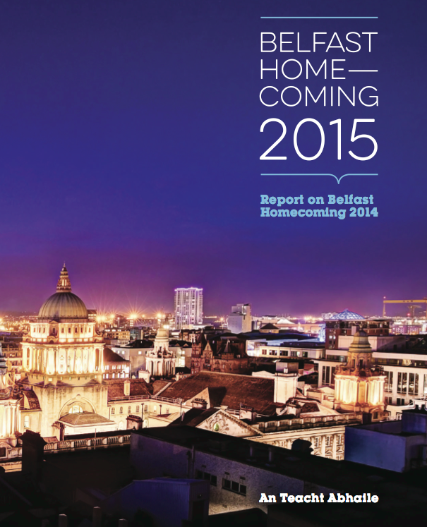 The Belfast Homecoming 2015 will take place in Titanic Belfast and venues throughout the city over three days