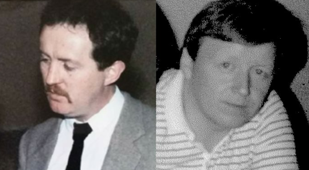 John Devine (left) and John O'Hara were killed for no other reason than their religion, say police (photos courtesy of PSNI)