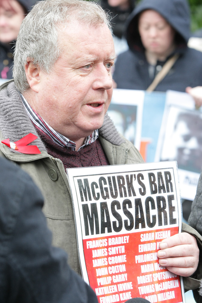 Robert McClenaghan's grandfather, Philip Garry (73), was the oldest person to die in the 1971 bombing