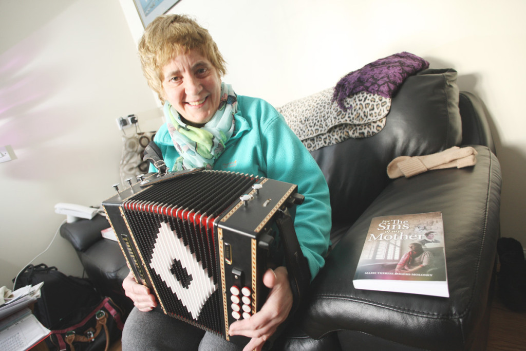Marie Therese Rogers Moloney is to meet relatives in Donegal in a bid to find out more about her mother's circumstances