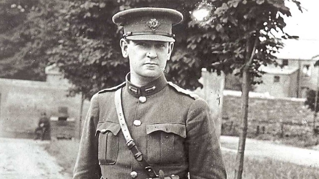 Michael Collins was a man of violence – one whose portrait hangs in the Taoiseach's office