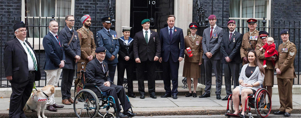 Prime Minister David Cameron launches the Poppy Appeal 2016 at Downing Street – why is it that every single BBCNI on-air presenter supports it?