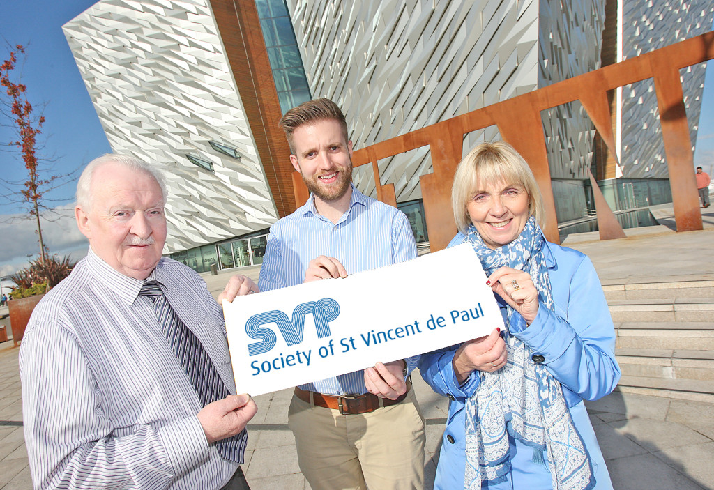 VdP at Titanic Belfast ahead of the upcoming gala dinner
