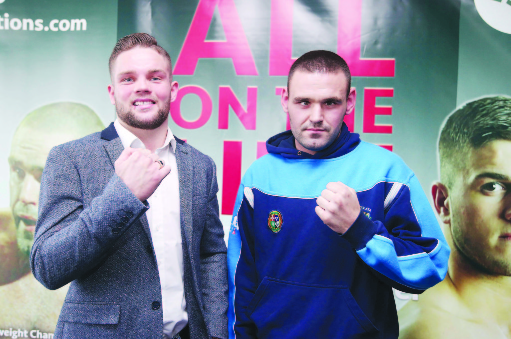 Conrad Cummings and Alfredo Meli meet for the Celtic middleweight title in a potential fight of the year on Friday Picture by Jonathan Porter/PressEye