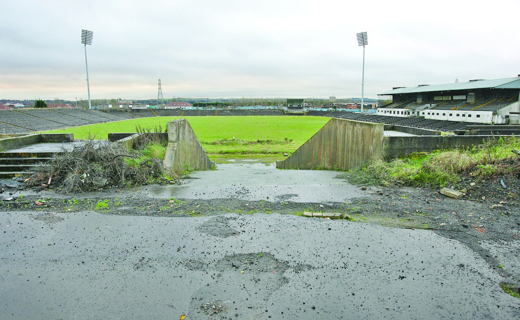 The future of the stalled Casement Park project is a priority for the incoming Antrim executive