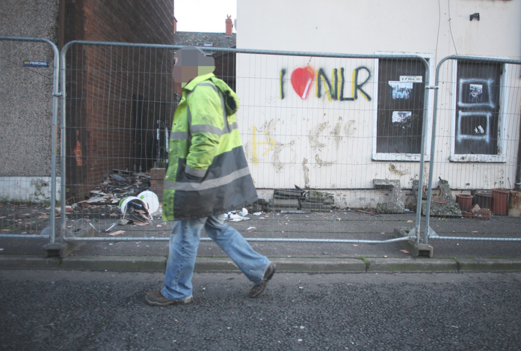 Back at work in Stratheden Street yesterday morning