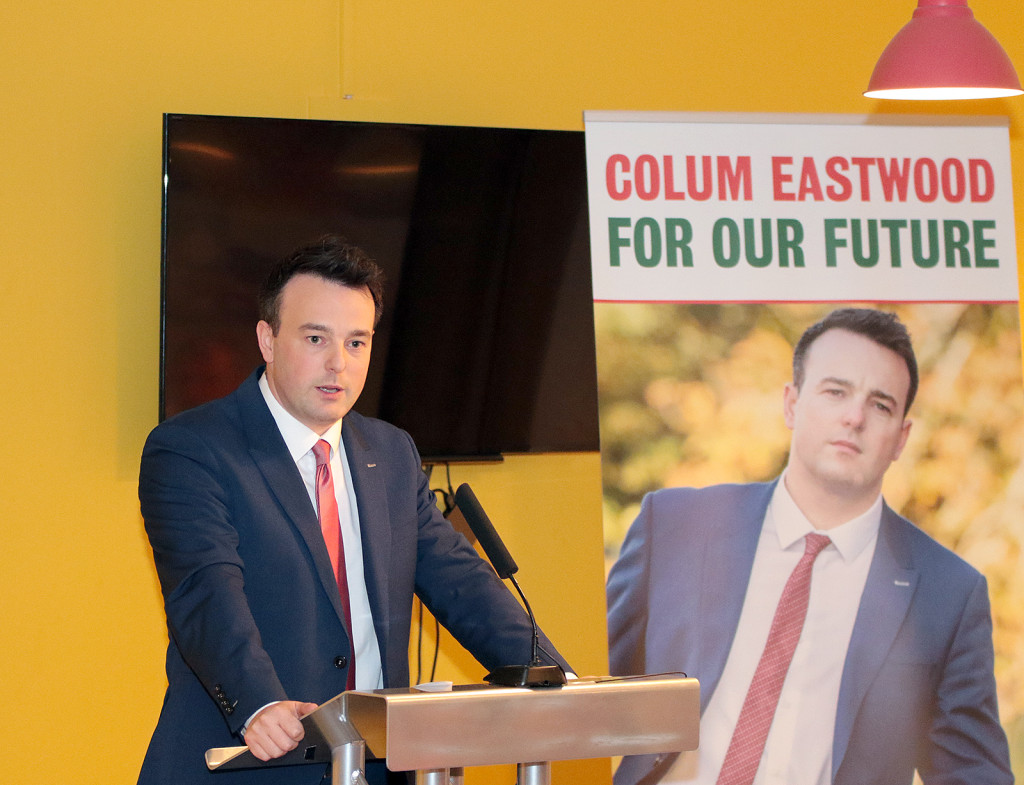 SDLP leader Colum Eastwood has criticised Secretary of State Theresa Villiers