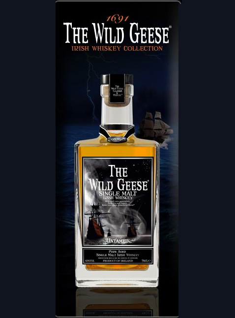 Wild Geese Irish whiskey is one of the smaller brands battling to grow its market share