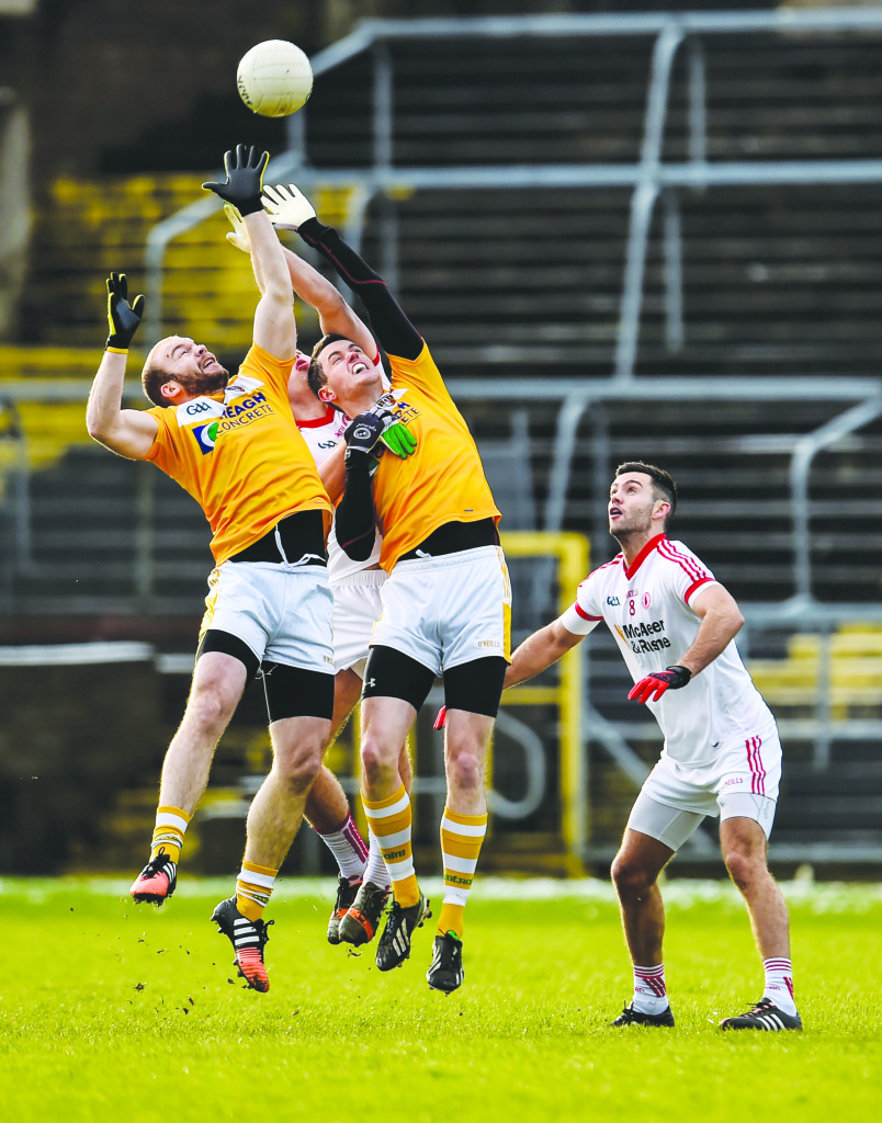 Sean McVeigh says Antrim will need to improve if they are to defeat Wexford on Sunday at Corrigan Park. The Saffrons opened their league campaign with a five-point win over Carlow last Sunday.