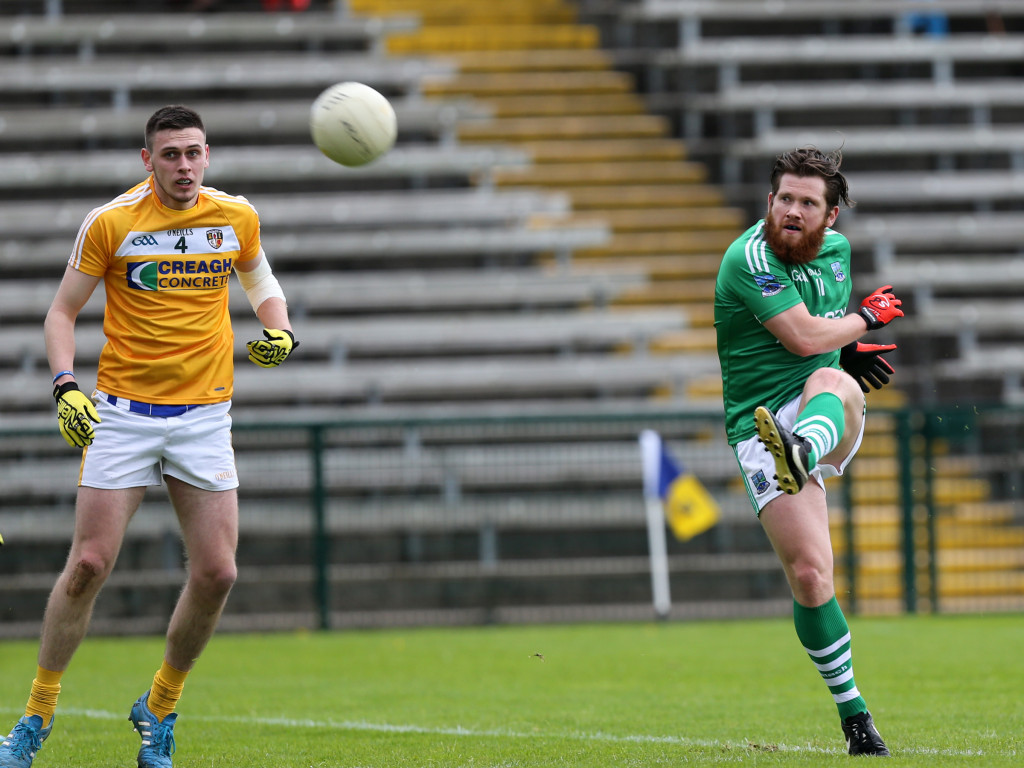 Despite two wins from two in Division Four, Antrim defender Connor Burke insists the Saffrons must improve for their next outing against Leitrim