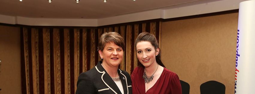 First Minister Arlene Foster and South Belfast MLA Emma Little Pengelly