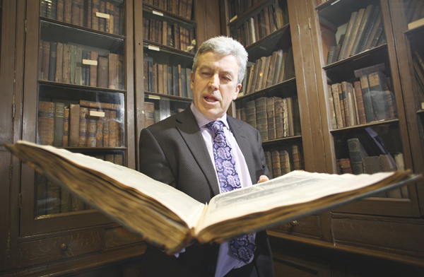 HISTORY MAN: St Malachy's archivist Gerry McNamee