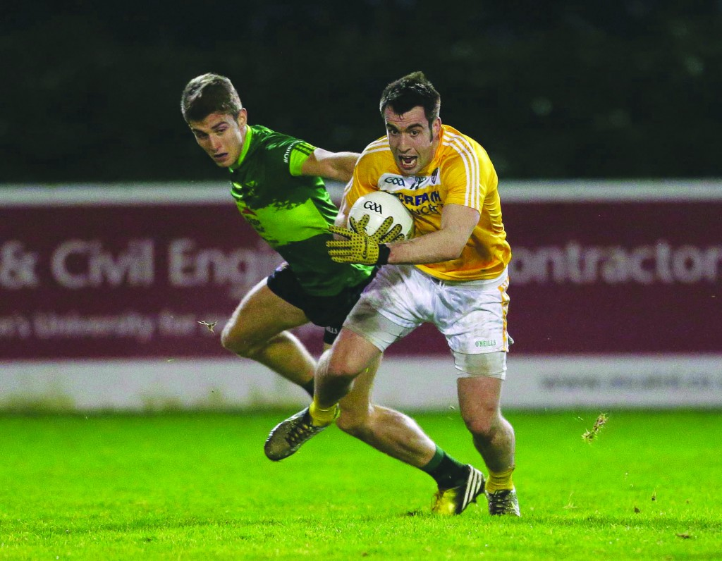 Antrim captain Kevin Niblock remains an injury doubt for Sunday's clash against Wicklow in Aughrim.