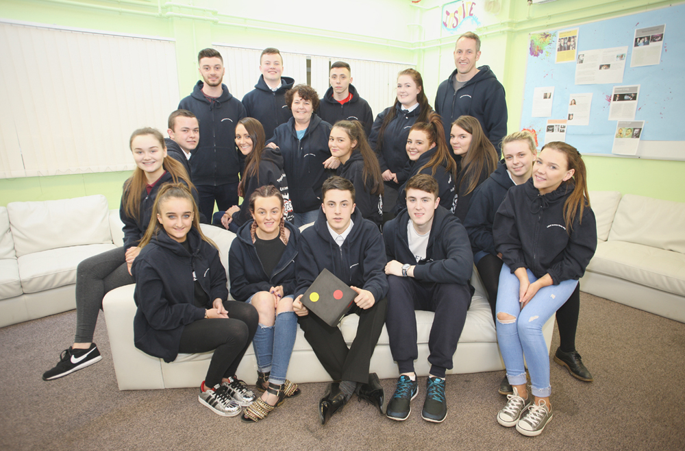 North Belfast youngsters at Mountcollyer Youth Club
