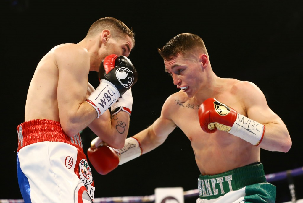 Adam Booth believes Ryan Burnett's impressive win over Anthony Settoul shows he is quickly maturing into a world-class boxer