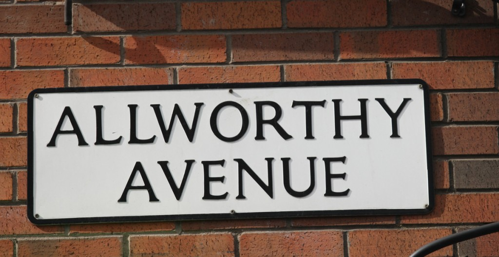 Allworthy Avenue where the attack took place