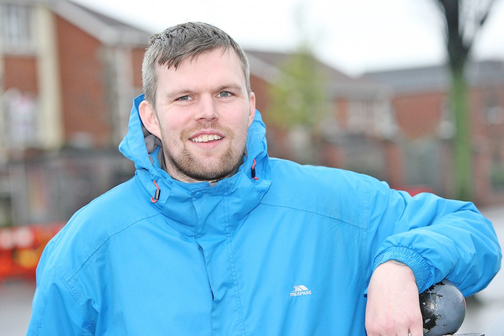 West Belfast Contender:  Gerry Carroll