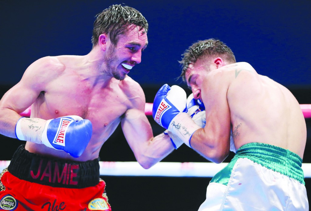 Jamie Conlan believes his experience of facing tough Mexican opposition including Jose Estrella (above) will be the difference when he takes on Anthony Nelson for the Commonwealth super-flyweight title at the Copper Box on Saturday night ©INPHO/Presseye/Kelvin Boyes