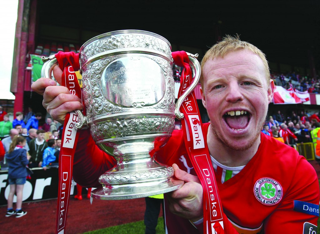 George McMullan's testimonial game against Celtic takes place at Solitude on Monday, April 11