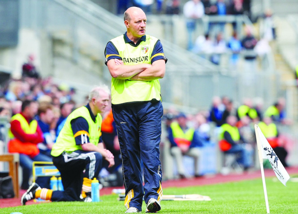Antrim co-manager Terence 'Sambo' McNaughton has called on the Saffrons to restore pride in the jersey ahead of this weekend's Championship opener against Kildare