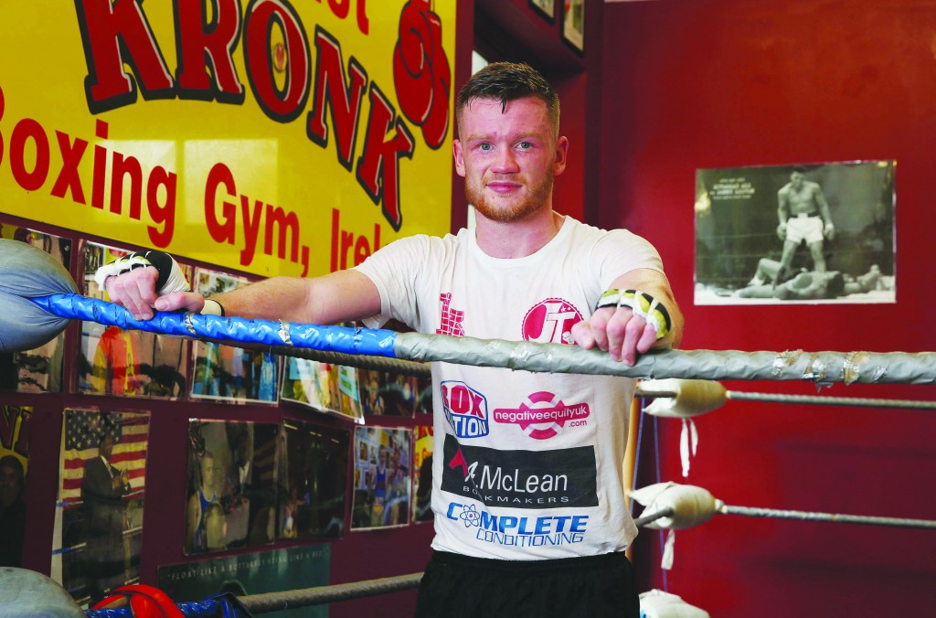 James Tennyson is expecting a tough night on Saturday but feels he has the tools to claim the Lonsdale Belt Picture by Brian Little/Presseye