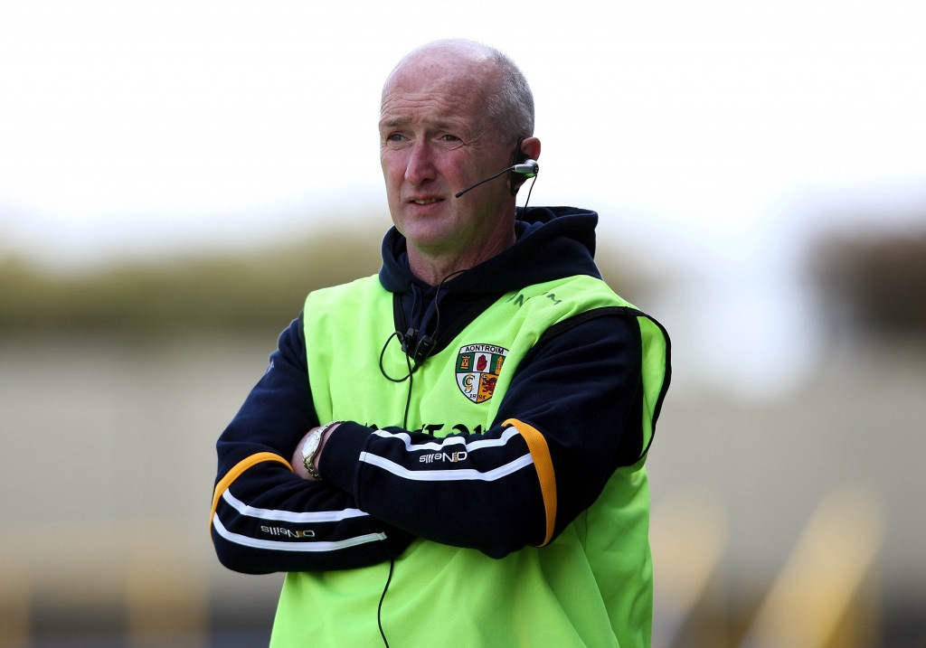 Dominic 'Woody' McKinley says the he felt 'duty-bound' to step in as part of the new Antrim management team for the forthcoming Christy Ring Cup and Ulster Championship campaigns.