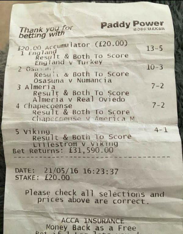 £30,000 WINDFALL: Local punters Sunday punt
