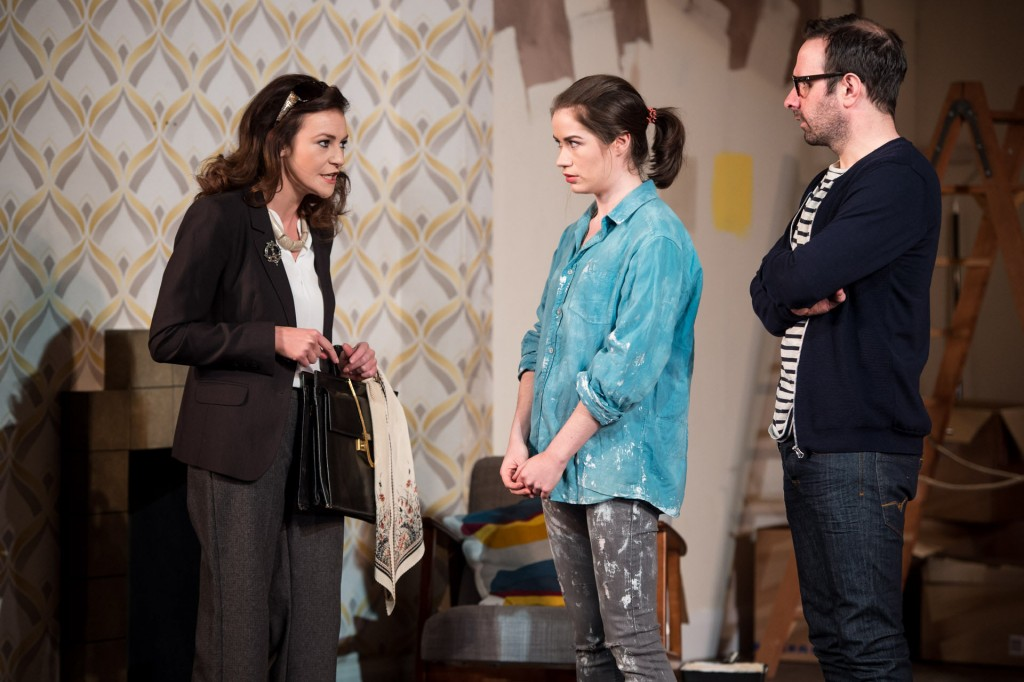 Kerri Quinn, Susan Davey and Michael Condron in Here Comes The Night at the Lyric