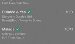 CASHOUT Our punter cashed out for £3,100 after 88 minutes