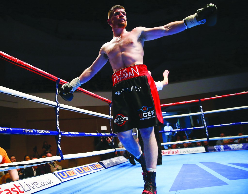 Paddy Gallagher hopes to take his career on to the next level with a win against Welshman Tony Dixon on Saturday